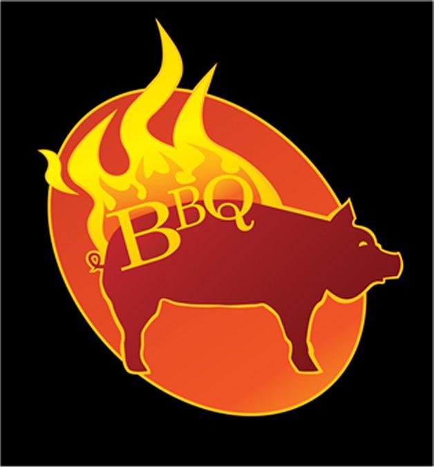 Bbq pig logo - photo#1