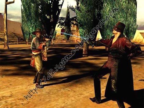 Free Download Games - The Shadow Of Zorro