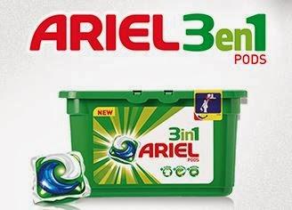 Ariel 3en1 Pods Gratis