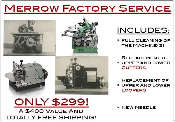 merrow sewing machine company