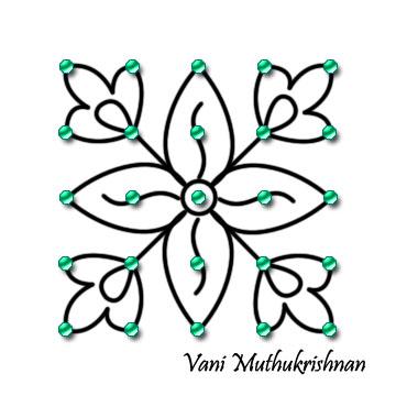 My Kolam Simple Floral