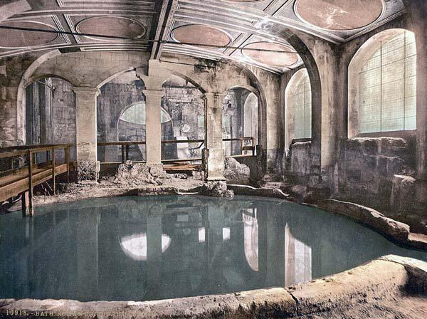 Baños Romanos En Bath:Ancient Roman Bath Houses