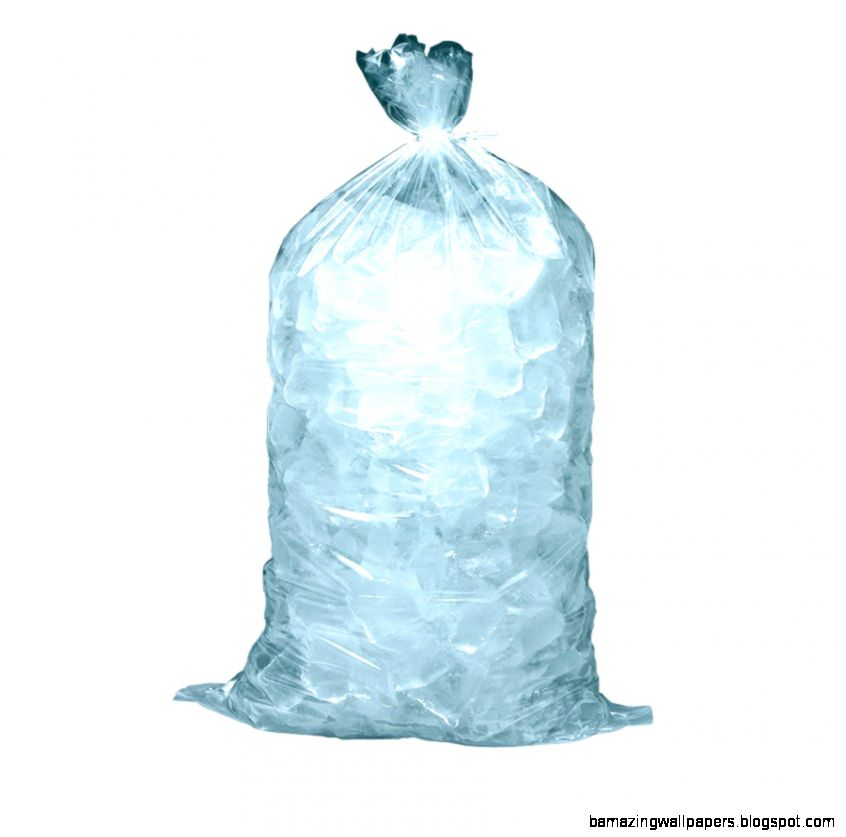 10 lb Plastic Ice Bag 1000 per Case