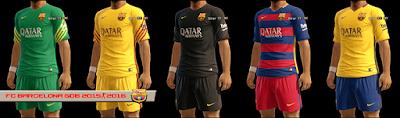 PES 2013 FC Barcelona 2015-2016 GDB by kIkEJG17
