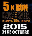 5k run Halloween en Punta del Este (Maldonado, 31/oct/2015)