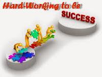 hard working,success