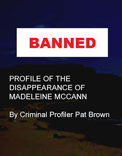 Madeleine McCann - Amazon changes its mind on CENSORSHIP/by SPUDGUN Banned