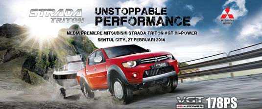 Mitsubishi Strada Triton Hi‐Power - Unstoppable Performance