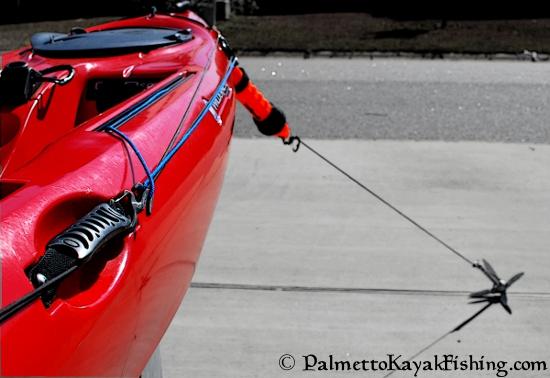 Quick Release DIY Kayak Anchor System + Bottle Opener