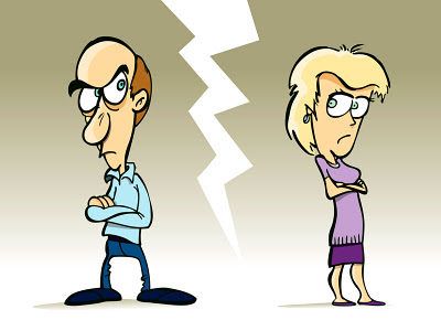 brigas de casais