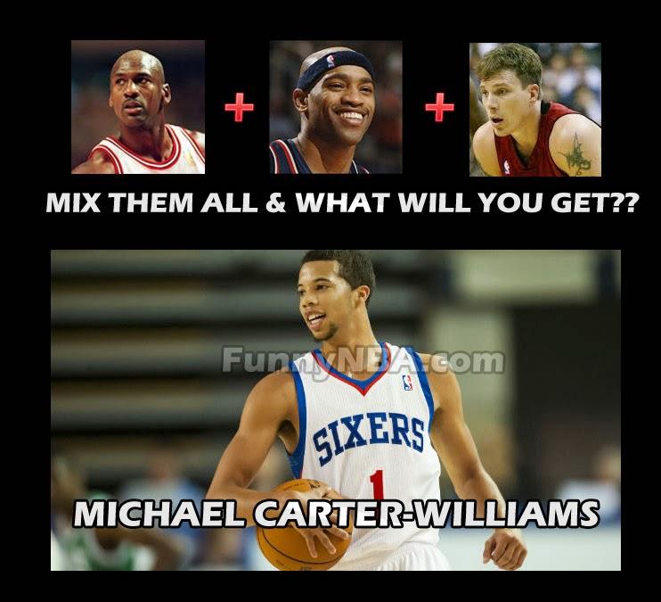 michael carter williams beat lebron funny nba meme jokes 2013 funny nba meme october 30 2013 nba funny moments,Funny Nba Memes