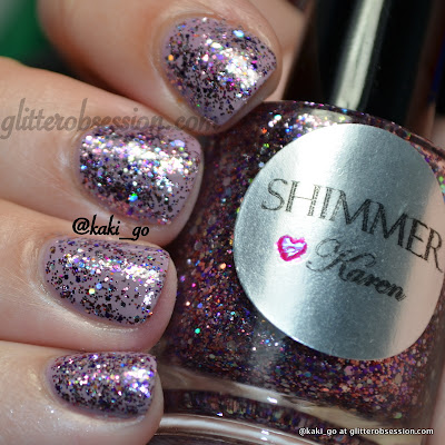 Shimmer Karen swatch