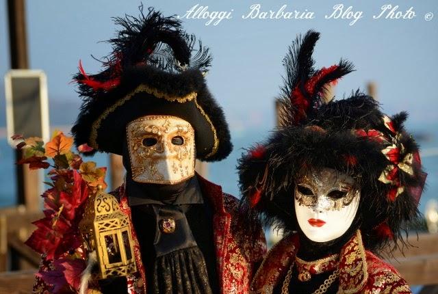 Maschere sul Molo di San Marco
