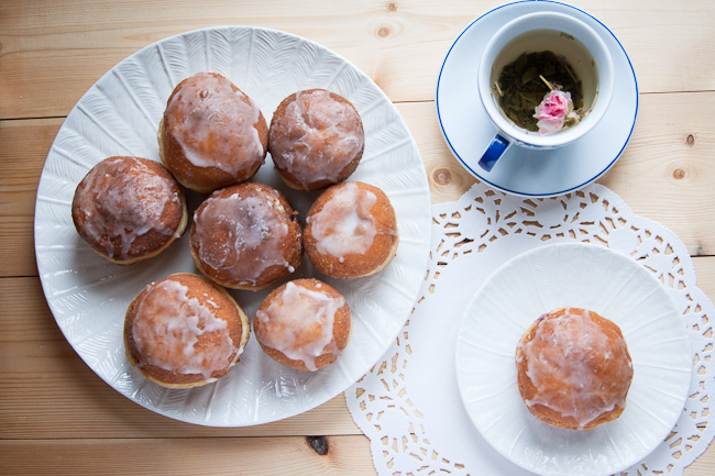 Polish doughnuts - paczki. Fat Thursday