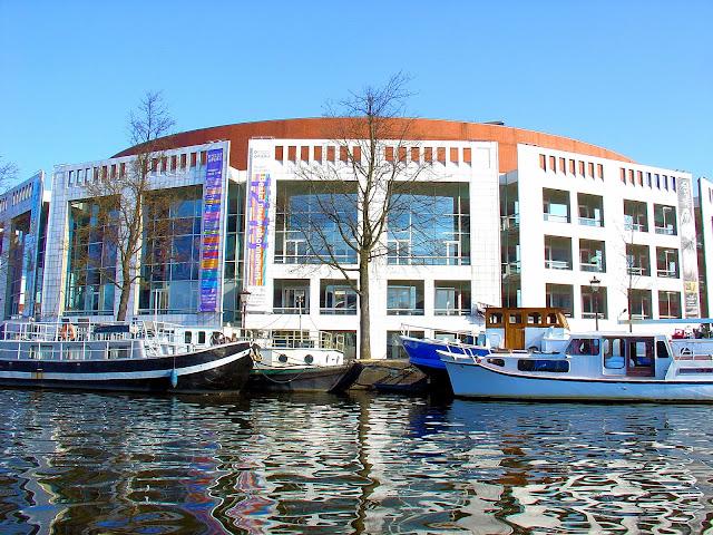 Amsterdam's Opera House.