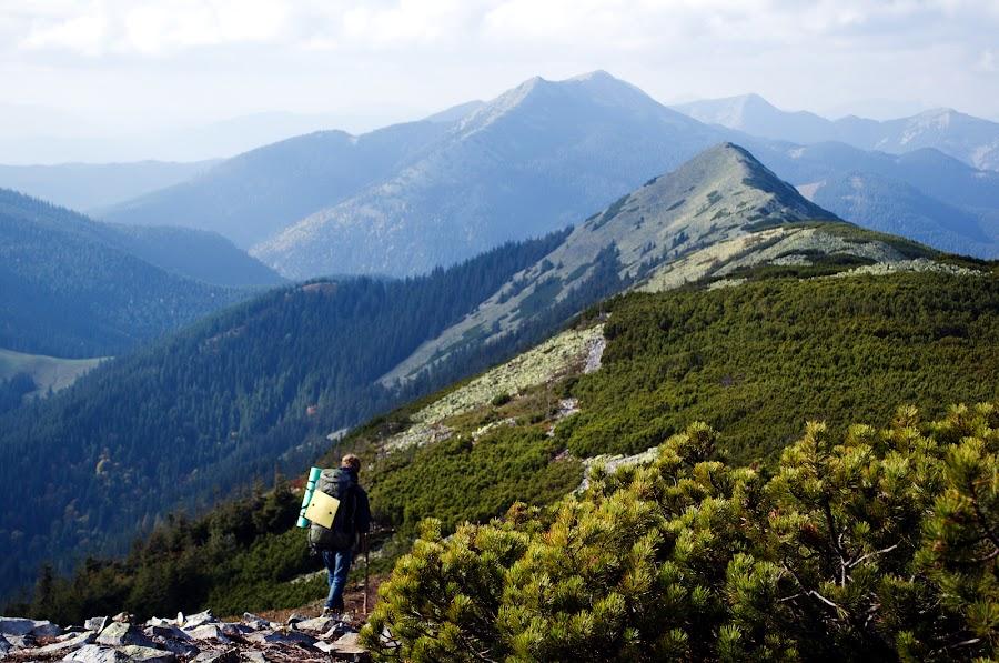 Карпаты. Осенний поход в горы по маршруту Буковель - Манява. Часть 1