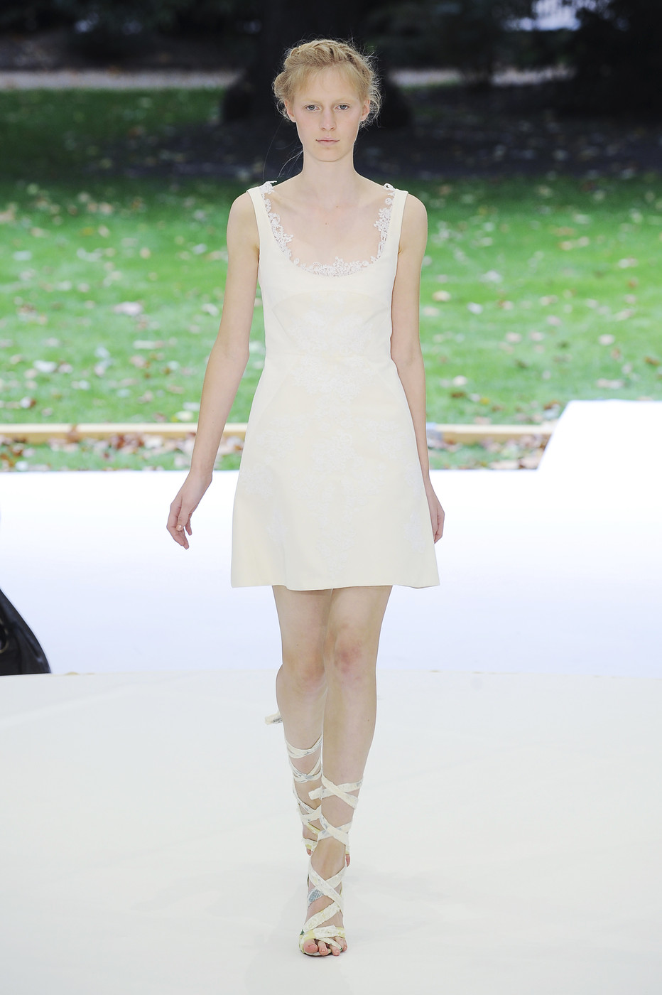 via fashioned by love | Erdem Spring/Summer 2011 White