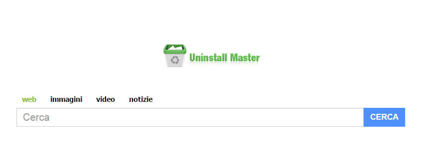 Come rimuovere searches.uninstallmaster.com da pagina iniziale