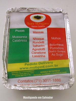 Bora Mangiare: Lasanha a Bolonhesa ainda na embalagem