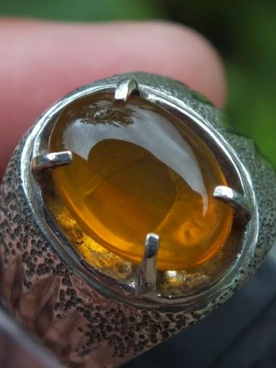 cincin batu fire opal