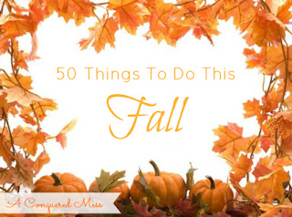 50 Things To Do This Fall