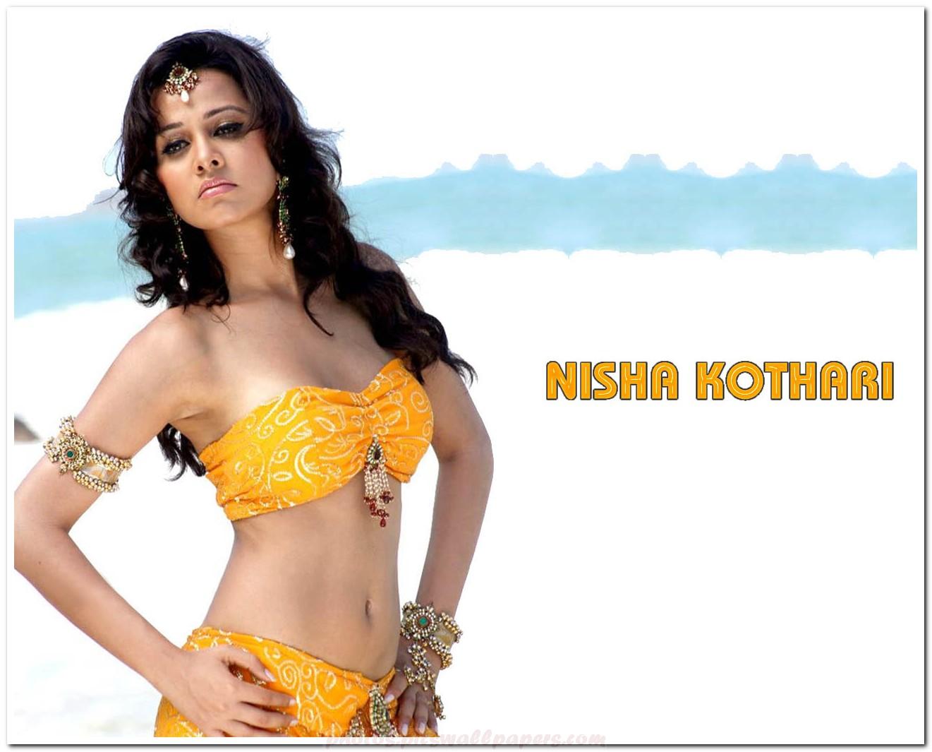 Nisha kothari expose in bikini -