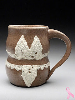 Ceramic Lingerie Mug by Lori Buff