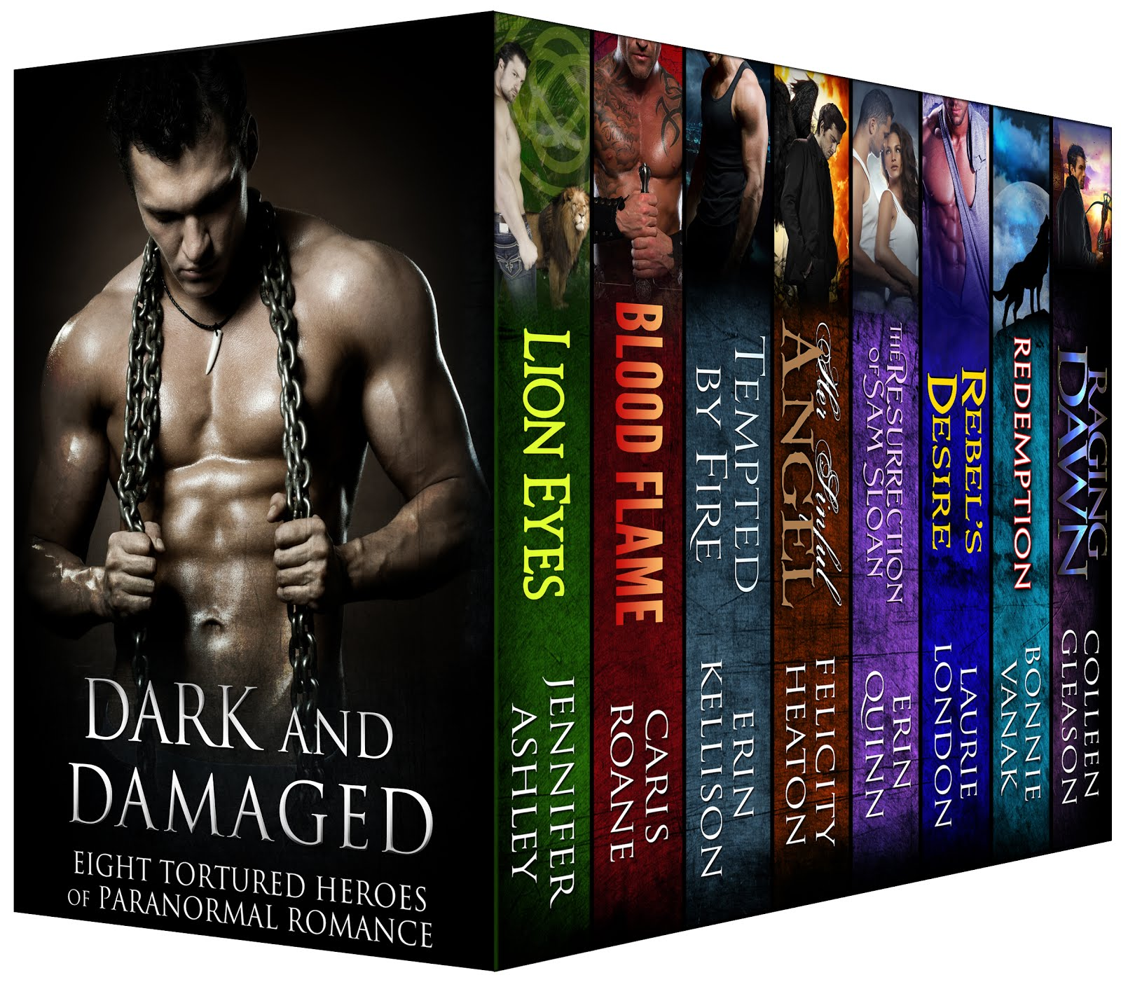 Only 99 cents! 8 NEW hot stories of tormented alpha males from 8 NY Times bestelling authors