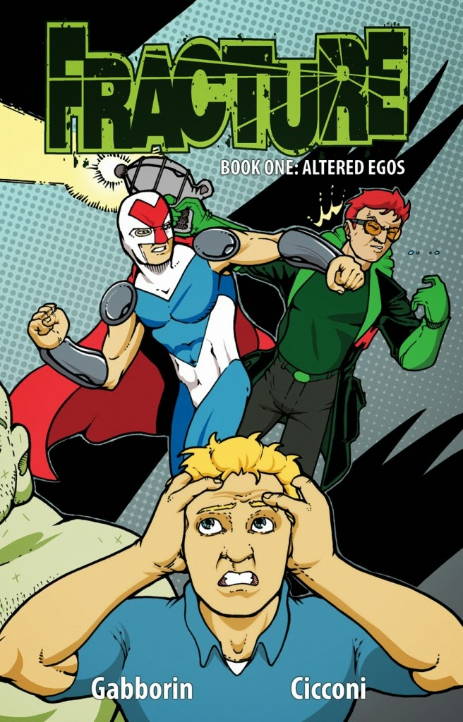 comic book, Action Lab, Fractured, image