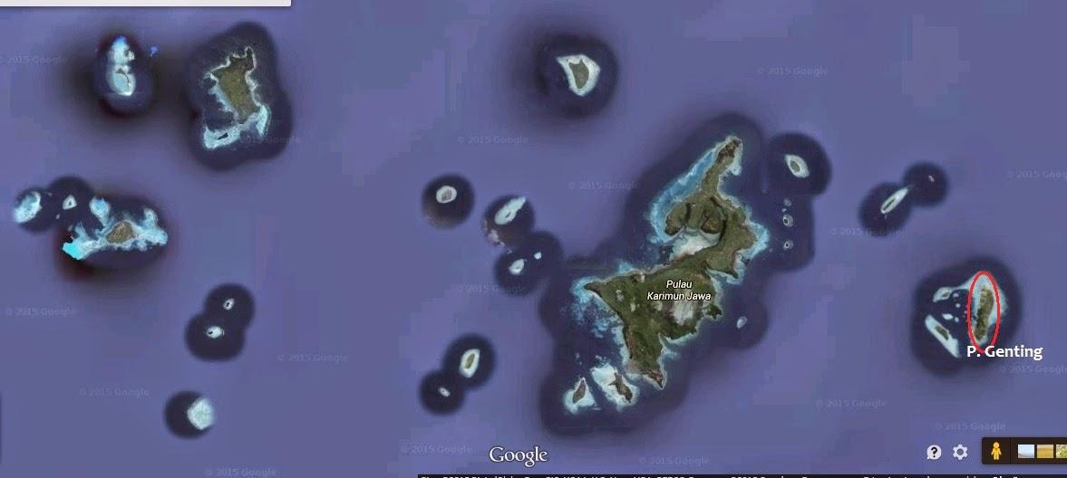 posisi pulau genting karimun