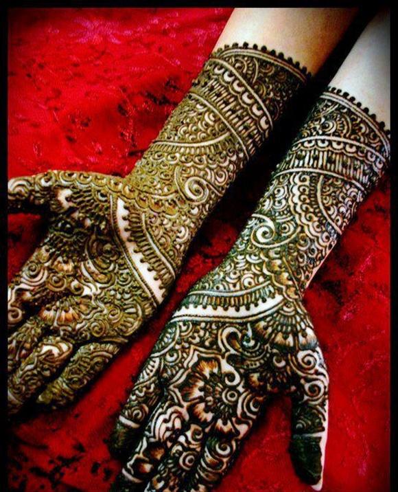 bridal mehndi design collection