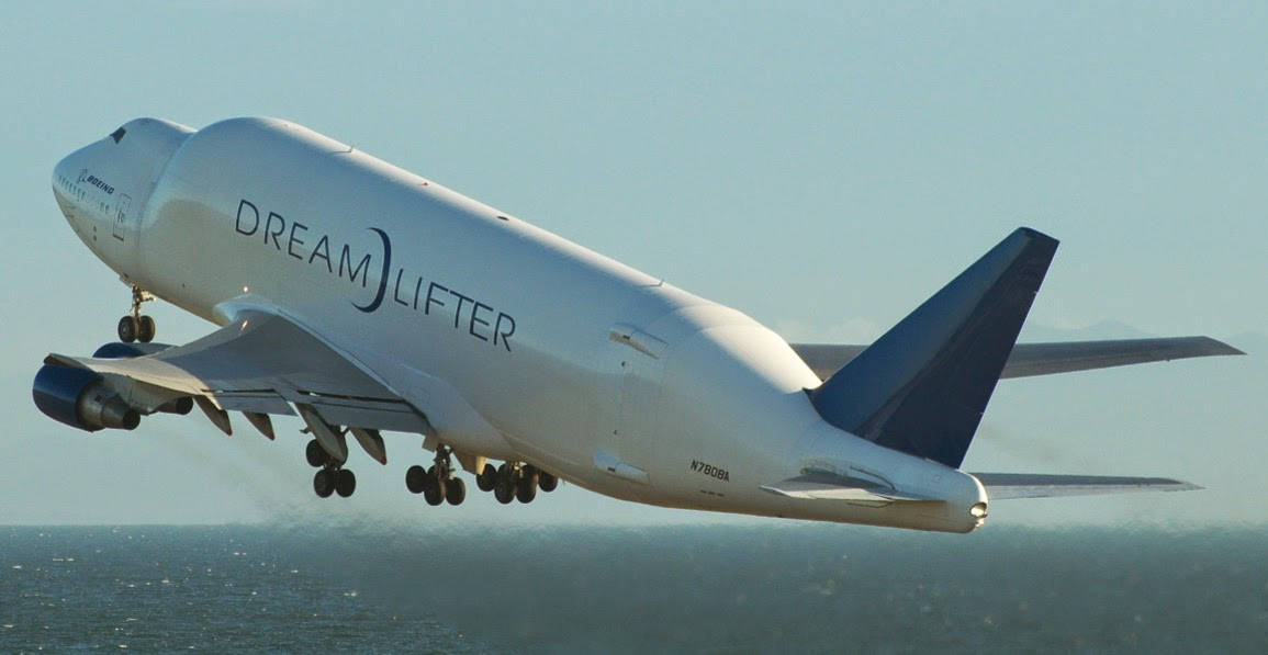 Pesawat Terbesar di Dunia ke-8 Boeing 747 Dream Lifter