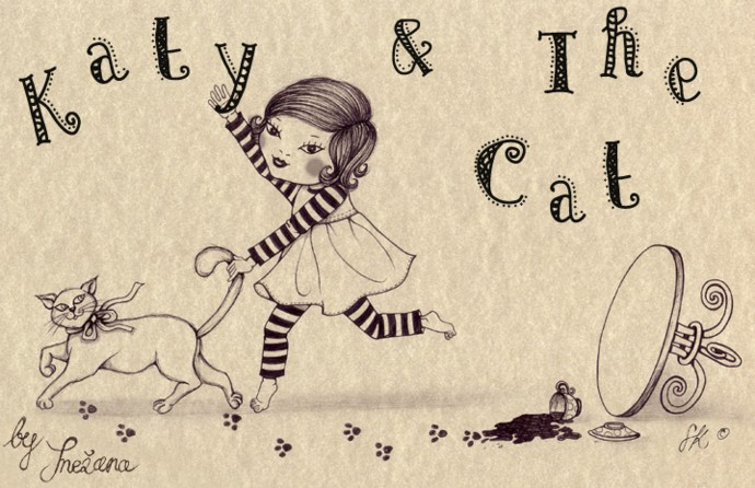 Katy and the cat