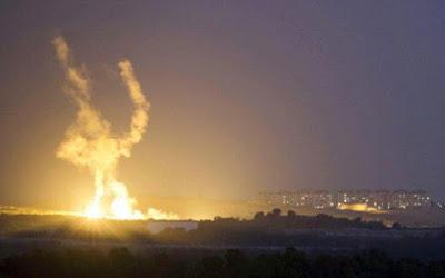 Israel reage a ataques do Hamas