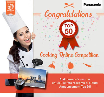 Pengumuman Pemenang Panasonic Cooking Online Competition