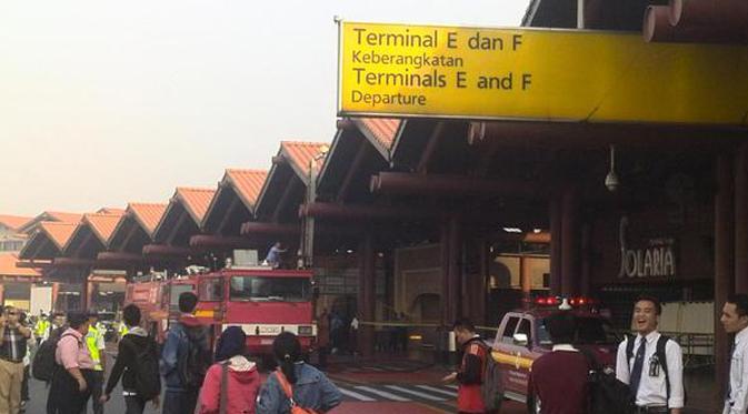 Foto Kebakaran di Bandara Soekarno-Hatta