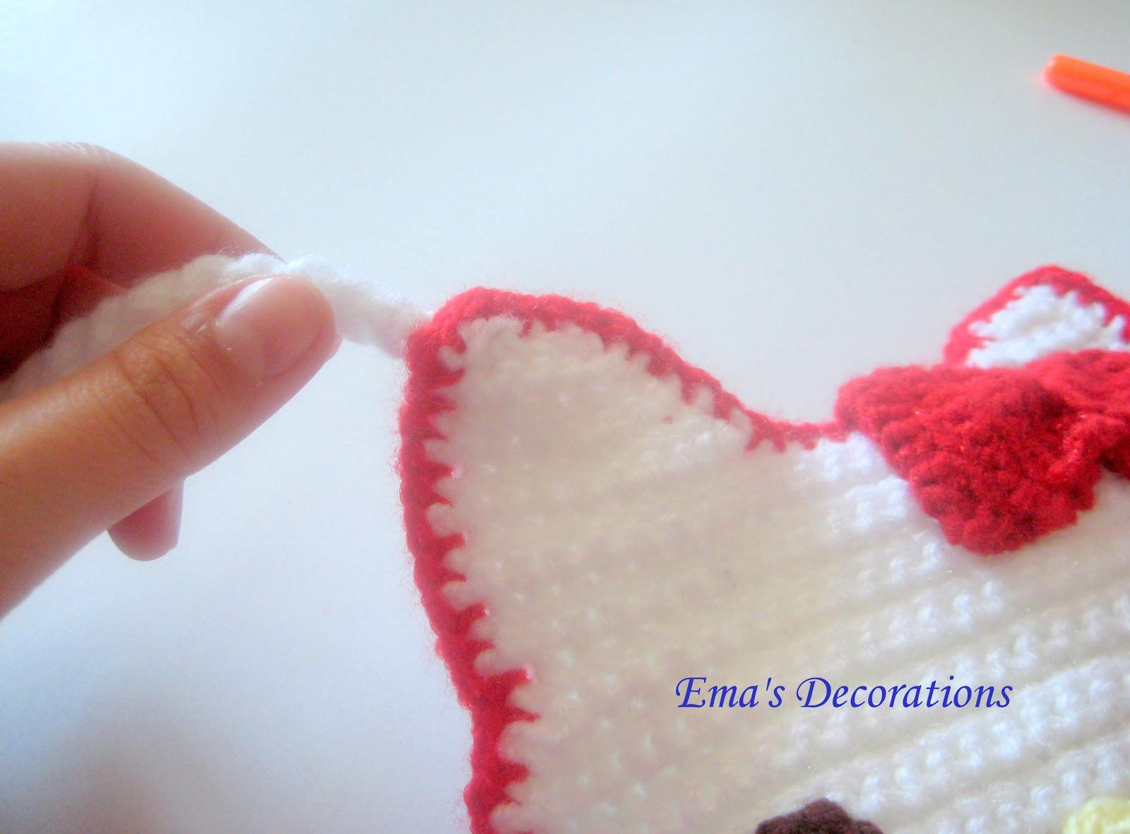 Ema Decorations Crochet Hello Kitty Purse My Pattern