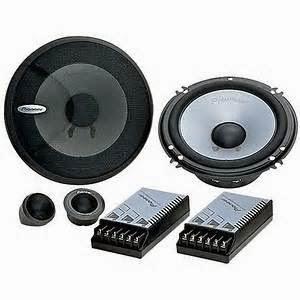 """Speaker paling umum dalam sistem audio mobil disebut """"full-range"""" ini dirancang untuk mereproduksi rentang frekuensi pendengaran manusia."""