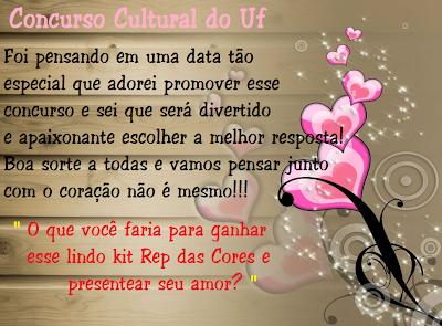 Segundo Concurso Cultural do UF!!!