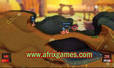 Free Download Games Worms Revolution Full Version