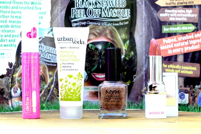 All the products in the June Love me Beauty box - menu 3