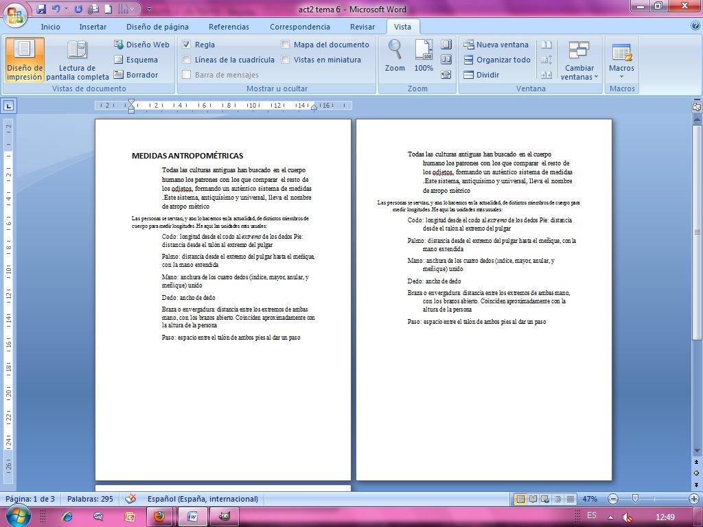 Acttecnomar noviembre 2011 for En word cual es el interlineado