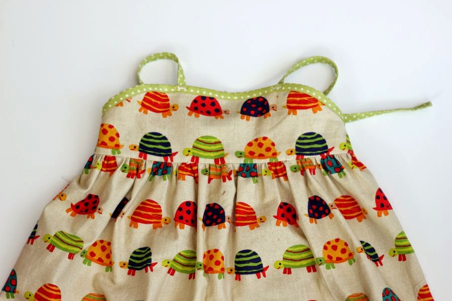 Learn to sew dress for girl