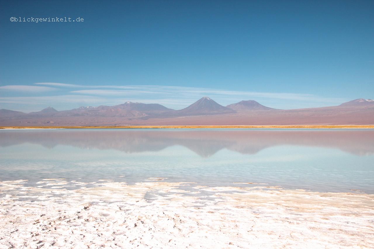 Salzsee in der Atacamawüste, Chile