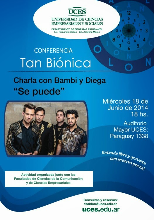 Tan bionica, charla gratis, evento, personal branding