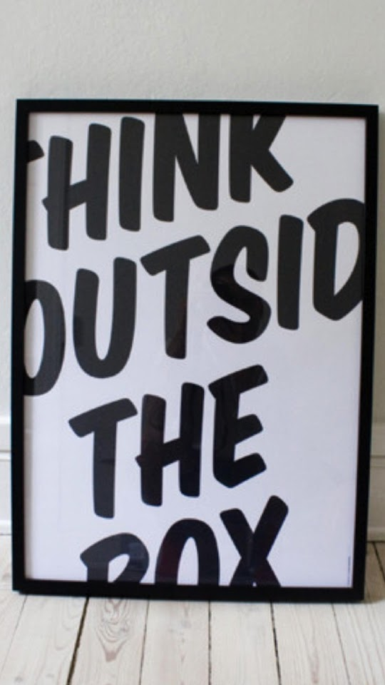 Think Outside The Box  Galaxy Note HD Wallpaper