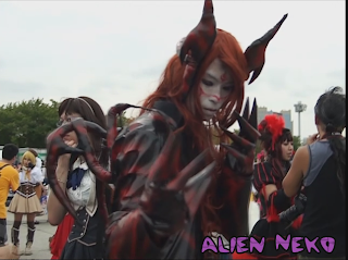 Demon Cosplay at comiket