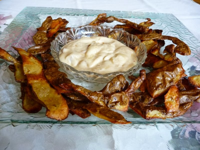 SPLENDID LOW-CARBING BY JENNIFER ELOFF: CRISPY POTATO SKINS