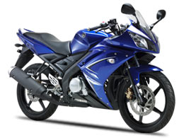 Blue Yamaha R15 Color