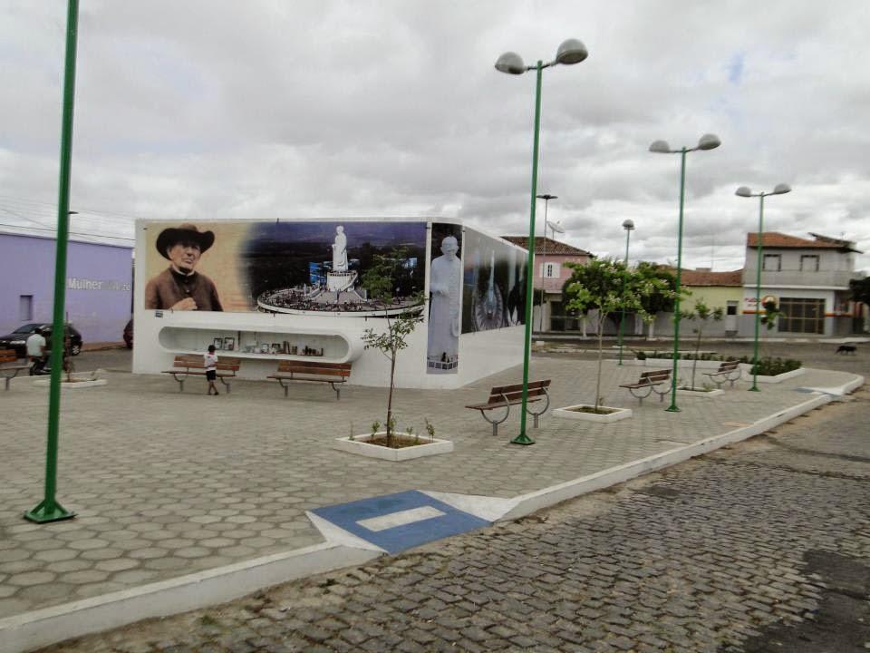 PRAÇA  PADRE CICERO EM CAJAZEIRAS PB